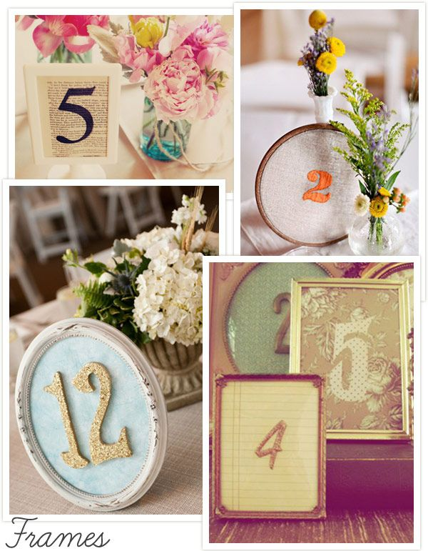 Table Number Ideas Simple And Chic For Numbers