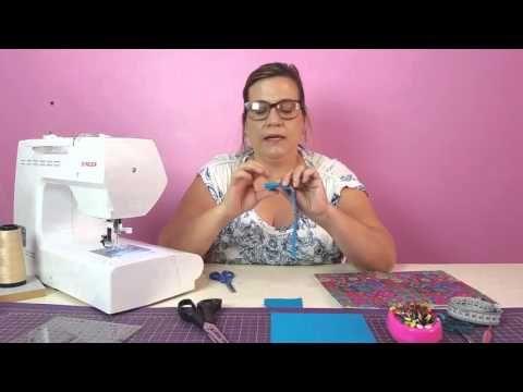 Flor de 5 pétalas de tecido - YouTube