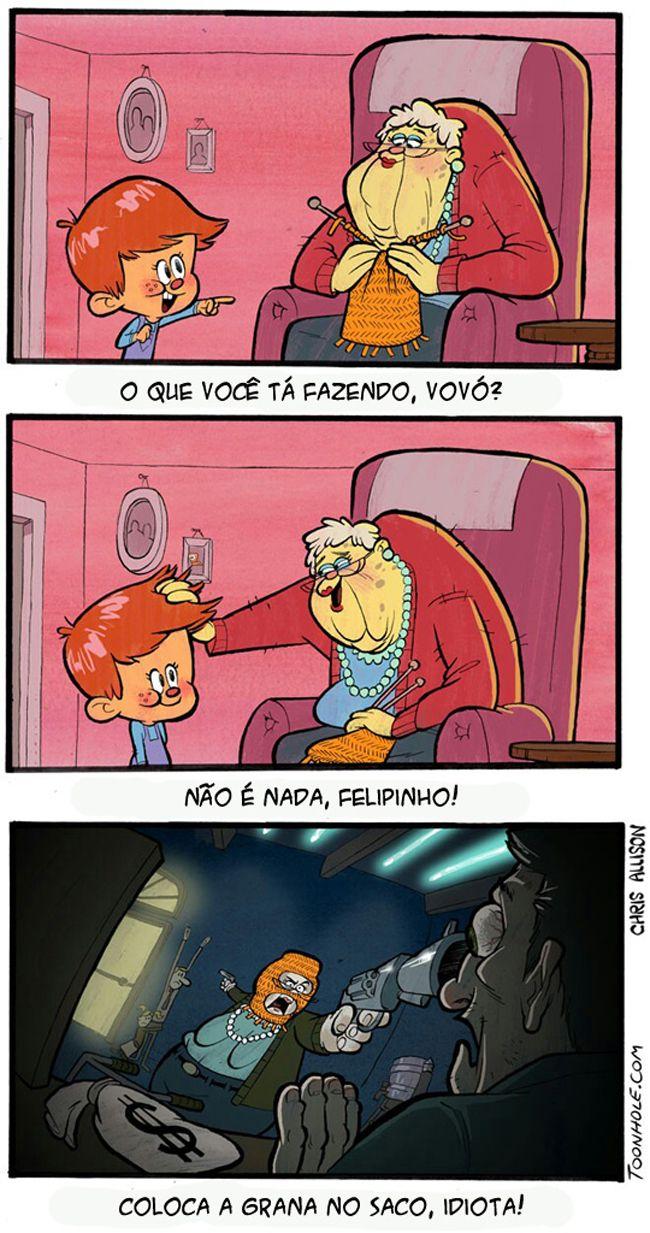 Satirinhas - Quadrinhos, tirinhas, curiosidades e muito mais! - Part 159