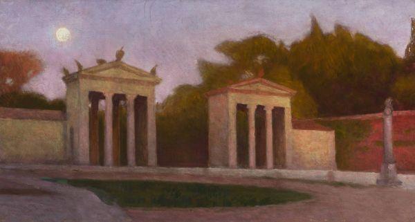 Villa Borghese - Aleksander Gierymski
