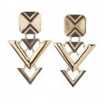 Triangle drop link earrings R130 Sass Diva