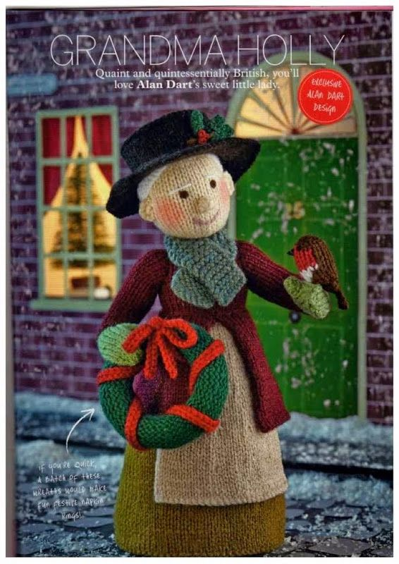 Free Alan Dart Knitting Patterns : 17 Best images about Christmas Amigurumis on Pinterest Free pattern, Amigur...
