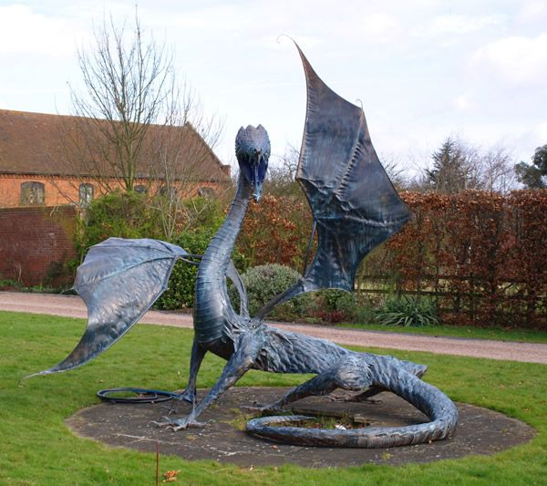 Dragons Wood Forge Blacksmith And Wood Sculpture Garden