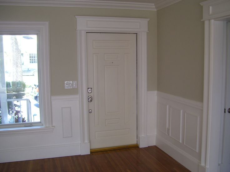 Foyer Door Trim : Outdoor window trim molding foyer remodel windows door