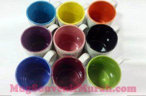Galery mug souvenir dalam warna