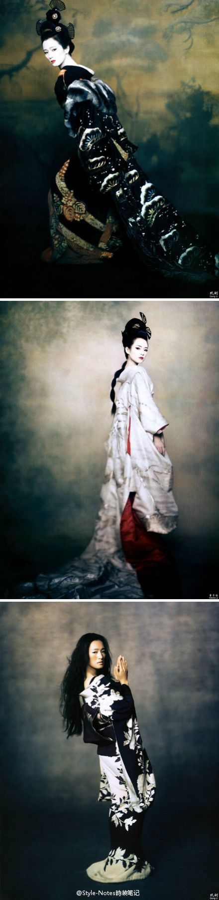 Gong Li & Ziyi Zhang for Memoirs of a Geisha