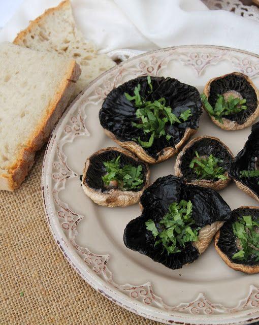Nem acredito que é saudável!: Cogumelos grelhados