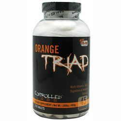 Controlled Labs Orange Triad ( with free SNO shirt). $25.99