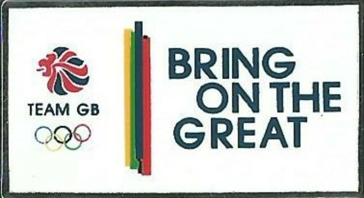 OFFICIAL TEAM GB BRING ON THE GREAT RIO 2016 OLYMPIC PIN  | eBay