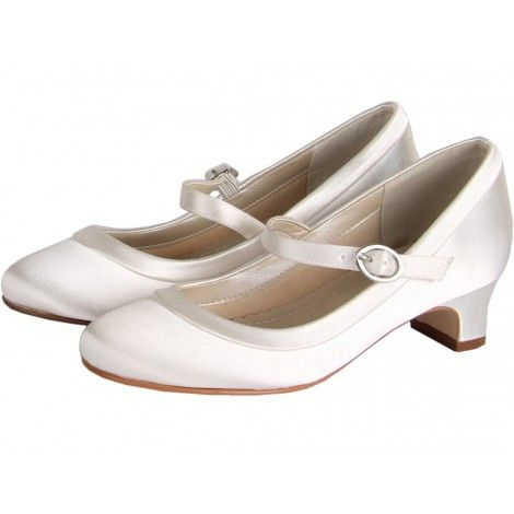 Maisie by Rainbow Club Kids Collection Childrens Bridesmaid or Holy Communion Shoes (Size 10-1)
