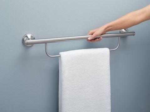 Bathroom Accessories Grab Bars best 25+ grab bars ideas on pinterest | ada bathroom, handicap
