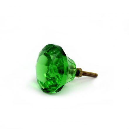 puxador verde esmeralda