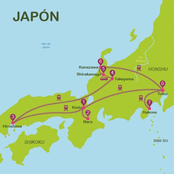 Que ver en Japon | Itinerarios para viajar a Japon en 15 dias | Way Away