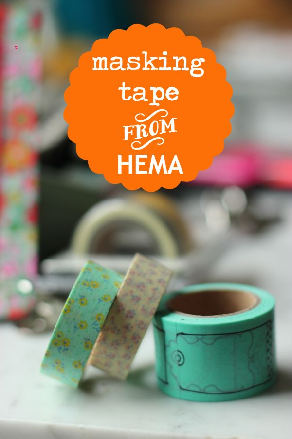 My latest crush | @HEMA tape