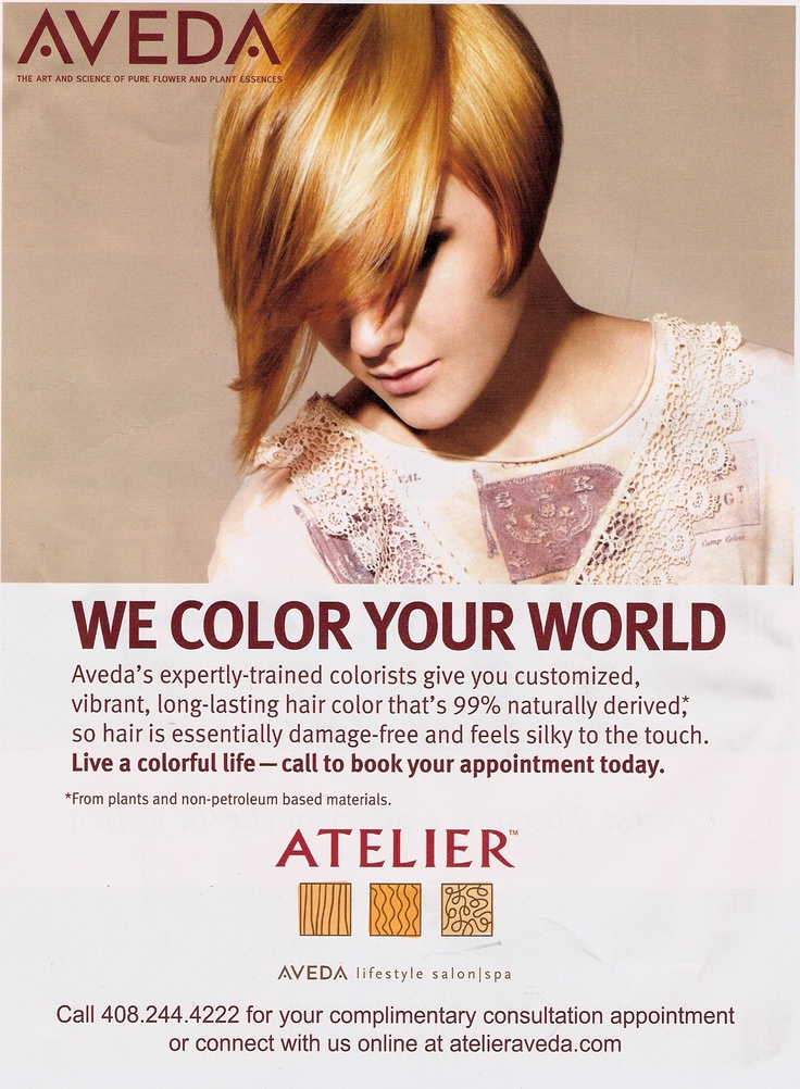 We'd love to color your hair and your world!