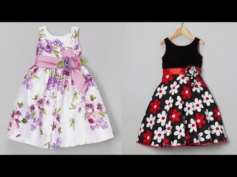 Cotton Frock Designs For Kids || Baby Frock Design || Home Stitching Ide...