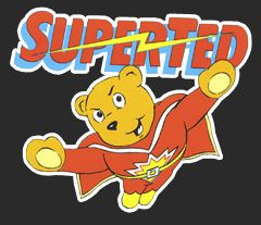 superted retro kids tv show