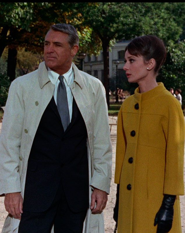 Cary grant audrey hepburn in 39 charade 39 1963 via for Cary grant first movie