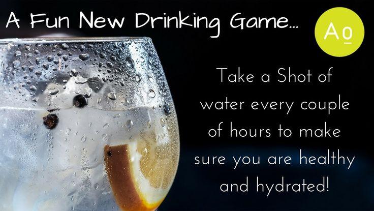 A fun way to keep hydrated.
