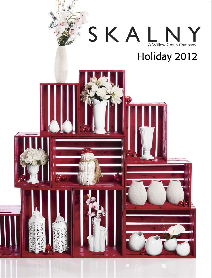 We LOVE this Skalny cover. Shop all your holiday wholesale home decor needs with the best in the industry, Skalny.