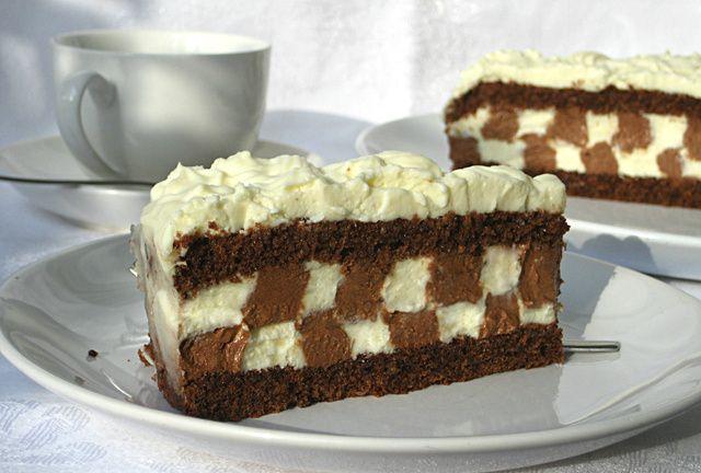 """TAČKA NA """"i"""" TORTA: Svi koji su je probali ostali su oduševljeni mekanim čokoladnim biskvitom, nježnom kremom koja se topi u ustima i lijepom izgledu! DEFINITIVNO NAJLJEPŠA TORTA KOJU SAM RADILA ~ Recepti i Ideje"""