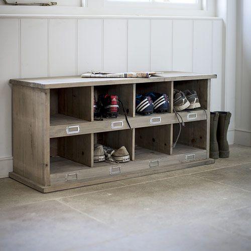 Les 25 meilleures id es de la cat gorie rangement de - Casier chaussures ikea ...