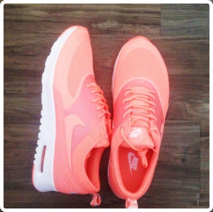 629de313e3dd85 NIke Air Max Thea Apricot Koralle Neon Pink Orange Lachs Sportschuhe  Turnschuhe Sneakers 38+39 - kleiderkreisel.de