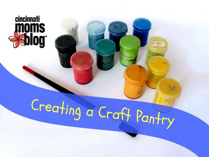 """Cincinnati Moms Blog provides a list of must have """"staples"""" to get you and your kids started on the right foot with crafting."""