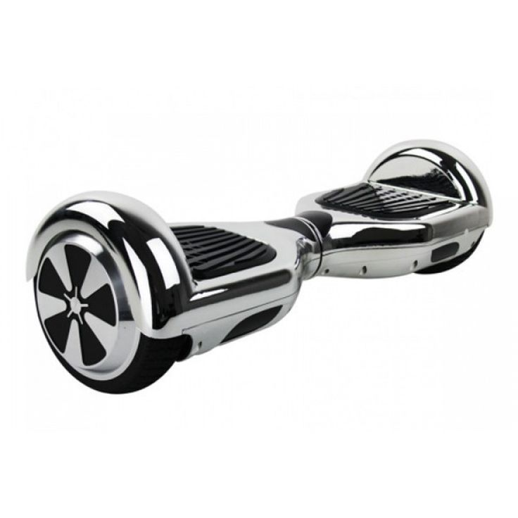 6.5 inch Silver plated Chrome Edition Smart Balance Hoverboard On SELL free shipping   http://hoverboardsmarket.com/65-inch-silver-plated-chrome-edition-smart-balance-hoverboard
