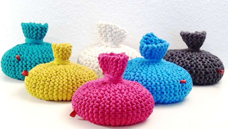 strickanleitung f r t rstopper aus textilgarn stricken h keln pinterest stricken h keln. Black Bedroom Furniture Sets. Home Design Ideas