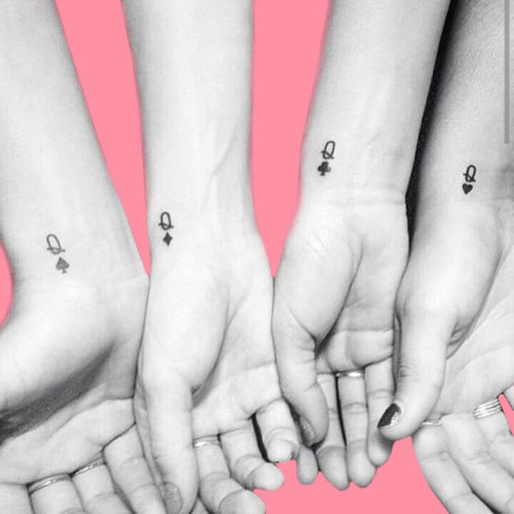 30+ Meaningful Matching BFF Tattoos Designs to Try for Ladies and Sisters   – Tattoo