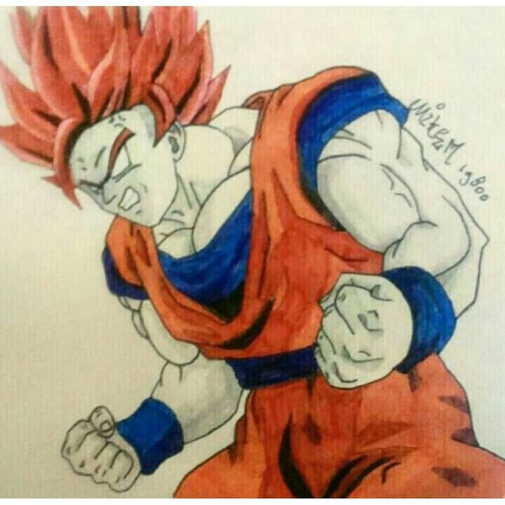 """193 Likes, 3 Comments - ANIME (@fananime99) on Instagram: """"And now .......drawing of goku 😀 Compliments @mikem19800 amazing drawings 👏👏 Next post of dialga…"""""""