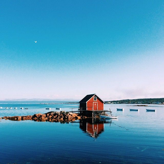 Fogo Island in Newfoundland. photo courtesy of sarahirenemurphy on Instagram.