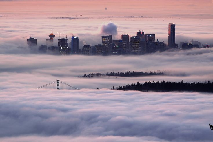 vancouver!: Spaces, Favorite Places, Cities, Vancouver Canada, Will, Cloud, Travel, Sunrise, Photo