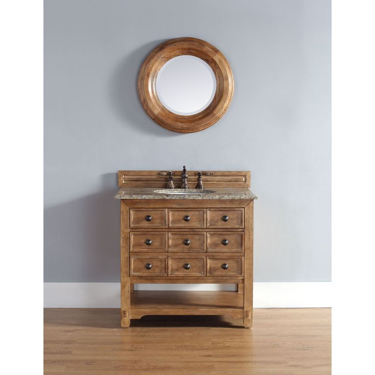 Step back in time and enjoy the prestige of the classic late California mission style vanity from the Malibu Collection. With a honey alder finish, this piece provides your bathroom with a simplistic, yet desirable look.