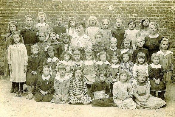 l'école en 1920