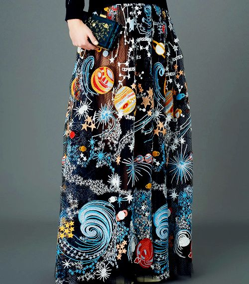 VALENTINO PRE-FALL 2015 Holy stars! Valentino's Pre-Fall 2015 is otherworldly. This collection, which takes inspiration straight from the cosmos, is just begging to be worn by space geeks ready to...