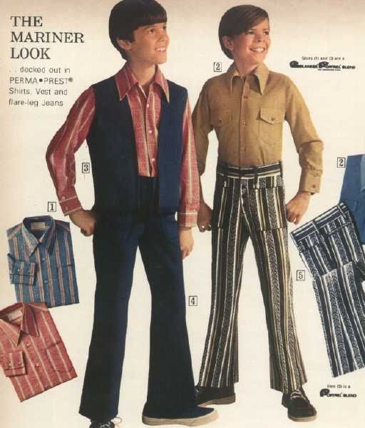 1970s childrens clothes