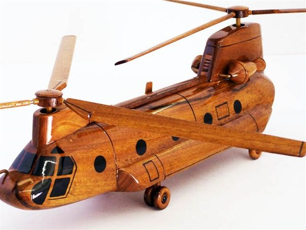 CH-47 Chinook Helicopter - Premium Wood Designs #Helicopter #Military premiumwooddesign...