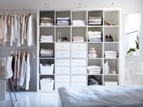 Bedroom Furniture - Beds, Mattresses & Inspiration - IKEA - Fitting a lot into a little space... making it work
