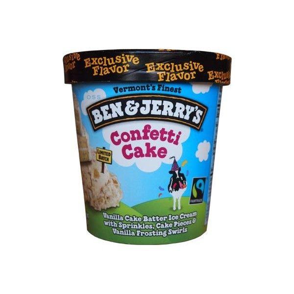 Ben Jerry S Confetti Cake