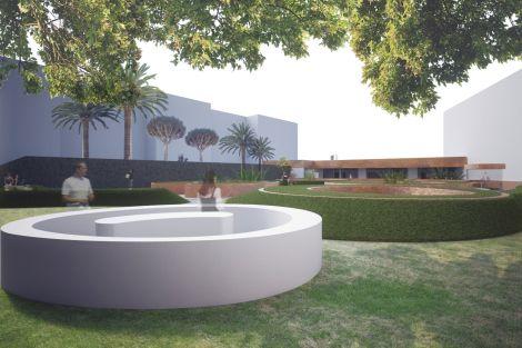 Garden - Conceptual render by dms infoarquitectura