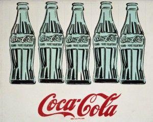 Andy Warhol, Cinque Bottiglie di Coca-Cola, 1962