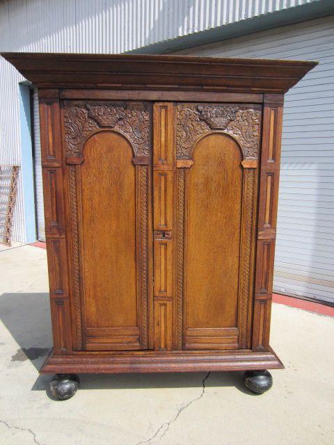 Dutch Antique Armoire Wardrobe Linen Press Antique Furniture Cabinet - 77 Best Antique Wardrobes Images On Pinterest Antique Armoire