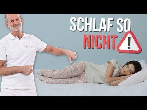 Rückenschmerzen im Schlaf abtrainieren – Geht das? Cindy