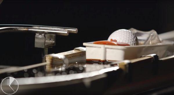 En vídeo una curiosa máquina de Rube Goldberg