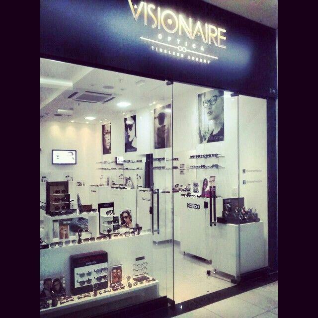 Venha descobrir a nossa loja, no Vitrinni Shopping, em Águas Claras. (61)3381 2000 #Visionaire #otica #Optica #AguasClaras