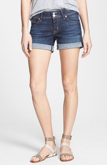 Hudson Jeans 'Croxley' Cuff Denim Shorts (Stella) available at #Nordstrom