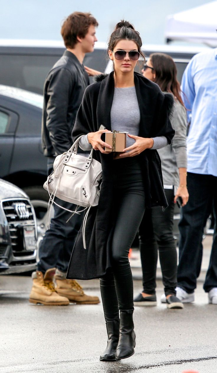 Click to see recommendations for best leather skinny pants like Kendall Jenner is wearing: http://www.slant.co/topics/4992/~leather-skinny-pants