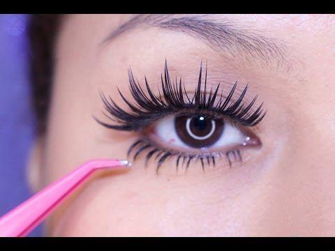 Tutoral De Maquillaje: Como Aplicar Pestañas Postizas - JuanCarlos960